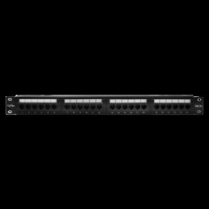 """Патч-панель 19"""", 24хRJ-45, UTP, Cat.5e, 1U (10-0403)        :Патч-панель"""