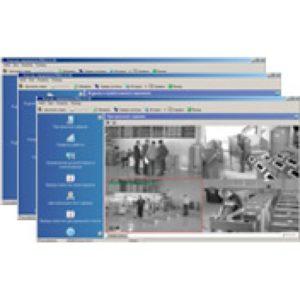 PERCo-SP17        :Комплект ПО «Контроль доступа с видеоидентификацией, ОПС, Видео, Дисциплина, Центральный пост»