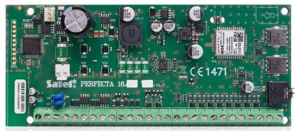 PERFECTA 16        :Плата охранно-пожарной сигнализации с встроенным GSM-коммуникатором