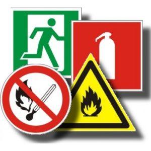 Пленки в ассортименте        :Знаки безопасности на пленке
