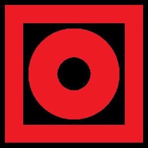 Плёнка (F-10) Кнопка включения установок (систем) пожарной автоматики 200х200        :Пленка