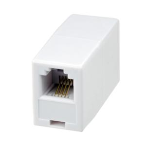Проходной соединитель 6P4C (RJ-11) (10-0315)        :Проходной соединитель