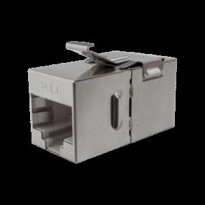 Проходной соединитель 8P8C (RJ-45) FTP, 5e (10-0316)        :Проходной соединитель