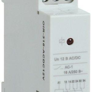 Реле OIR 3 контакта, 16А, 12 В AC/DC (OIR-316-ACDC12V)        :Реле промежуточное