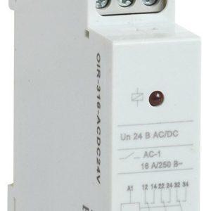 Реле OIR 3 контакта, 16А, 24 В AC/DC (OIR-316-ACDC24V)        :Реле промежуточное