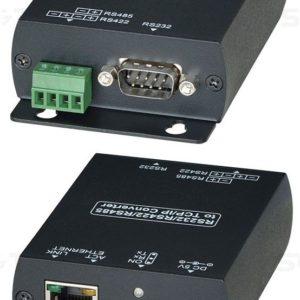 RS007        :Преобразователь интерфейса RS485/RS422/RS232 в Ethernet