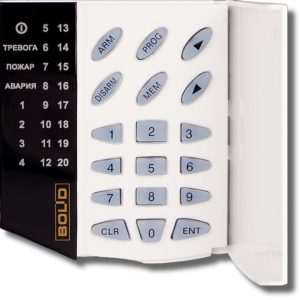 С2000-КС        :Пульт контроля и управления светодиодный