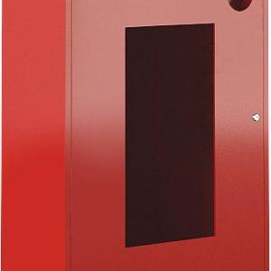 Ш-ПО-113НОК        :Шкаф пожарный навесной со стеклом красный