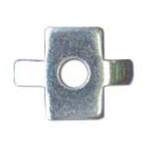 Шайба четырехлепестковая (CM180600)        :Шайба четырехлепестковая для соединения проволочного лотка (в соединении с винтом)