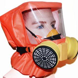 Шанс-Е с полумаской        :Самоспасатель фильтрующий с полумаской