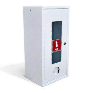 ШП-О-103НОБ        :Шкаф пожарный навесной со стеклом белый