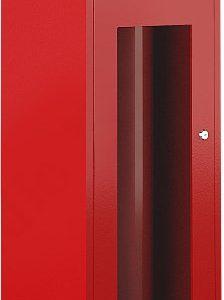 ШП-О-103НОК        :Шкаф пожарный навесной со стеклом красный