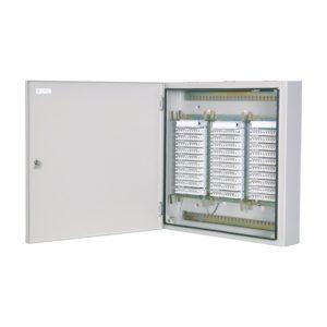 ШРН-2/300 в комплекте с размыкаемыми плинтами        :Шкаф распределительный настенный металлический с замком для 300 пар, в комплекте с размыкаемыми плинтами