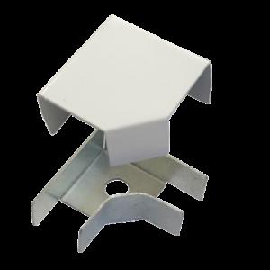 Соединитель ККМО Угол 25 L-образный металлический        :Угол L-образный для кабель-канала