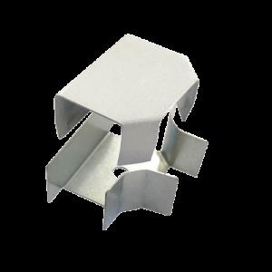 Соединитель ККМО Угол 25 T-образный металлический        :Угол T-образный для кабель-канала