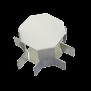 Соединитель ККМО Угол 25 X-образный металлический        :Угол X-образный для кабель-канала