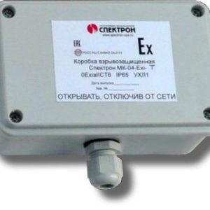 Спектрон-МК-04-Exi-Т        :Коробка коммутационная взрывозащищенная
