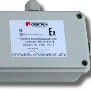 Спектрон-МК-04-Exi-У        :Коробка коммутационная взрывозащищенная