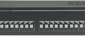 SS-2220P        :Селектор каналов на 20 зон, с релейной группой