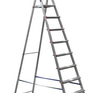 Стремянка 9-и ступенчатая (AM709)        :Лестница