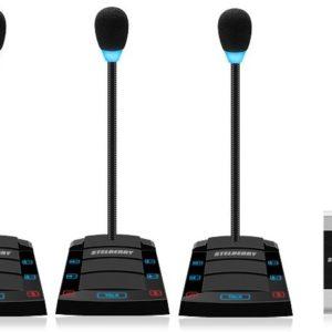 SX-500/4        :Устройство переговорное клиент-кассир, дуплексное, с записью переговоров