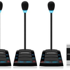 SX-510/4        :Устройство переговорное клиент-кассир, дуплексное, с записью переговоров