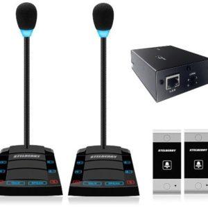 SX-520/2        :Устройство переговорное клиент-кассир, дуплексное, с записью переговоров