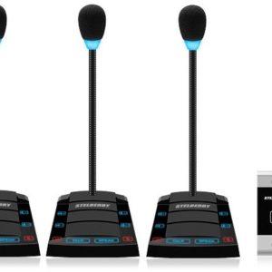 SX-520/4        :Устройство переговорное клиент-кассир, дуплексное, с записью переговоров