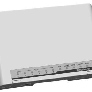 Тандем-2М с БП-12/0,5 (с аккумулятором)        :Прибор приемно-контрольный охранно-пожарный и объектовый оконечный