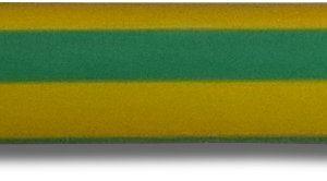 Термоусаживаемая трубка 9,5/4,7мм, желто-зеленый (2NF20195GY)        :Термоусаживаемая трубка, самозатухающая