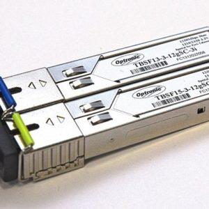 Tfortis SFP (TBSF-13-3-12gSC-3i 1310+TBSF-15-3-12gSC-3i 1550)        :Коммутатор