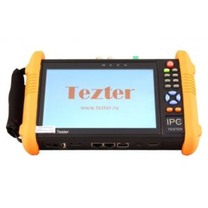 TIP-H-7        :Многофункциональный тестовый видеомонитор для аналогового и IP видеонаблюдения