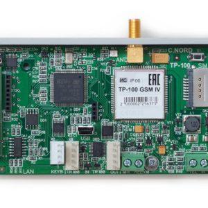 ТР-100 GSM IV        :Интерфейс связи с центральной станцией Центр охраны СИ-НОРД