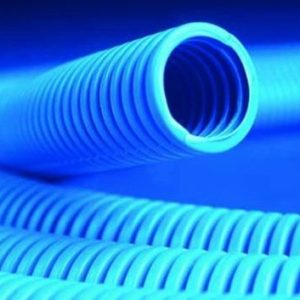 Труба ППЛ тяжелая, синяя D=16 (11516)        :Труба ППЛ гибкая гофрированная тяжелая, с протяжкой
