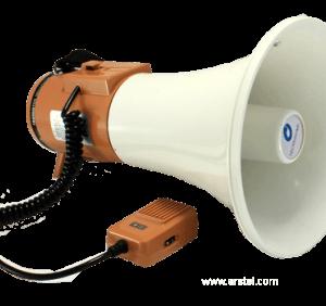 TS-125B        :Мегафон с выносным микрофоном