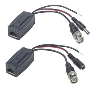 TTP111HDPD-RJ45-K        :Приемопередатчик пассивный TVI, CVI, AHD