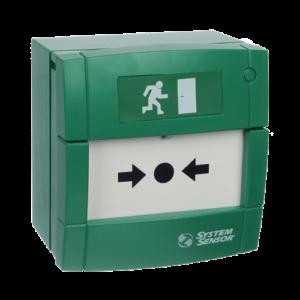 УДП3A-G000SF-S214-01 (зеленый)        :Элемент дистанционного управления электроконтактный