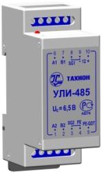 УЛИ-485        :Удлинитель (повторитель) линий интерфейса RS-485.