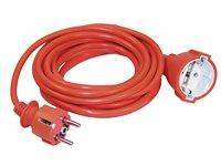 УШ-01РВ оранжевый с вилкой и розеткой (WUP10-20-K09-N)        :Шнур с вилкой и розеткой