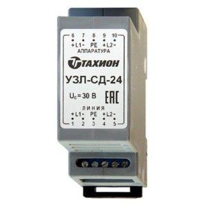 УЗЛ-СД-12        :Устройство защиты оборудования в линиях систем сигнализации
