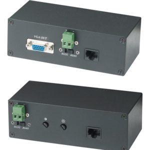 VE01S        :Приемопередатчик VGA, RS-232/485