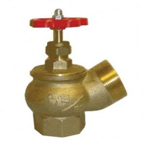 Вентиль КПЛ 50-1 угловой латунь (муфта-цапка)        :Вентиль угловой латунный