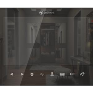 VMH-7.1 (черный)        :Монитор видеодомофона цветной