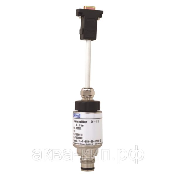 Датчик давления, высокоточный выход RS232 Тип D-10
