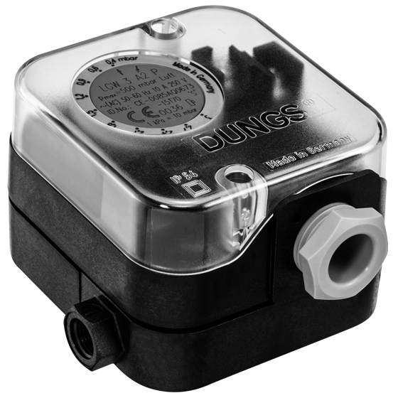 Датчик дифференциального давления, газ/воздух 0.4-150мбар LGW3A4, LGW10A4, LGW50A4, LGW 150 A4