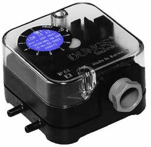 Датчик дифференциального давления, газ/воздух LGW 3 A2, LGW 10 A2, LGW 50 A2, LGW 150 A2 (DUNGS) LGW 150 A2