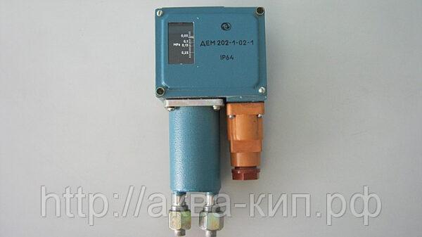 Датчик-реле разности давлений на аммиак ДЕМ-202-1-01А-2
