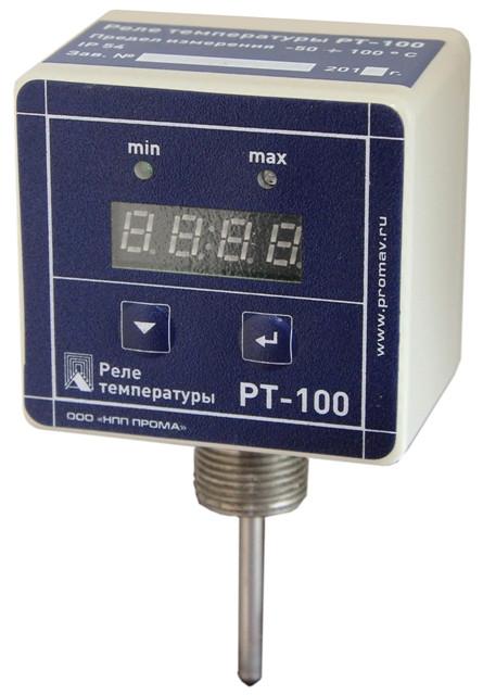Датчик-реле температуры РТ015 (РТ-100), НПП ПРОМА 200