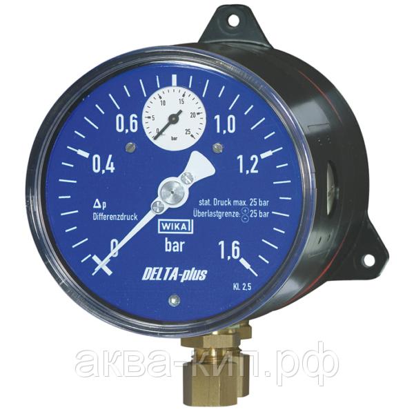 Дифференциальный манометр DELTA-plus 702.01 c индикатором давления.
