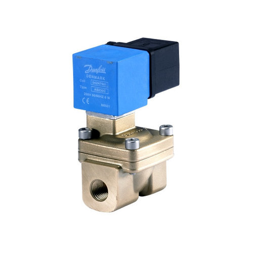 Клапан нормально-открытый не прямого действия EV220W Ду10...50мм (Danfoss)